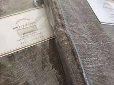 Emery Drapes 2 Pottery Barn Emery Linen Cotton Drapes Sable Brown 84