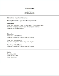 no job experience resume example resume example and free resume