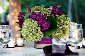 purple wedding centerpieces awesome purple and green centerpieces for wedding wedding purple