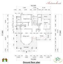 dimensions of house plans house plan