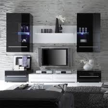Wohnzimmer M El Modern Wohndesign Moderne Dekoration Schwarz Weis Wohnzimmer Design