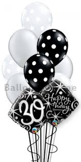 30th birthday balloon bouquets 30th birthday helium balloon bouquet delivery in dubai abu dhabi uae