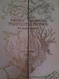 Harry Potter Map Diy Mini Harry Potter Marauder U0027s Map By Yumjum On Deviantart
