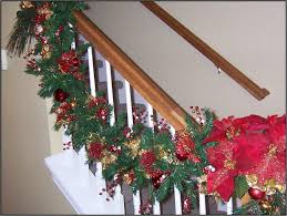 How To Decorate Banister With Garland Christmas U2013 Deck The Halls With Beautiful Garland West Cobb Magazine