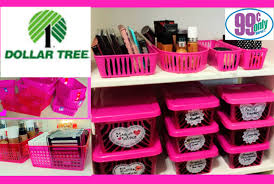 1 makeup organization storage ideas dollar tree 99 cents only