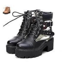womens combat boots australia combat boots camouflage sole platform shoes anti