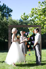 diy backyard bbq wedding ceremony snixy kitchen