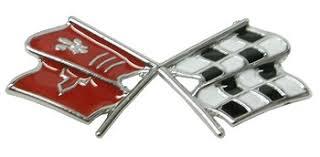 c3 corvette flags c3 corvette 1968 console cross flags emblem corvette mods