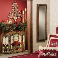 decorations graceful fireplace christmas decoration ideas