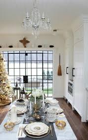 farmhouse glam christmas decor kitchen blog tour