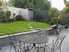 seating area and grass garden design ideas small rear garden