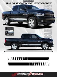 dodge truck package 2009 2017 dodge ram rocker strobes lower door truck side vinyl