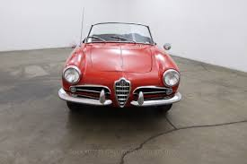 alfa romeo classic for sale 1957 alfa romeo giulietta spider beverly hills car club