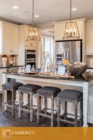 tasty rustic kitchen island with bar stools shining kitchen design