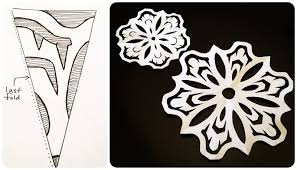 How To Make A Snowflakes Out Of Paper - is sweet paper snowflakes 101