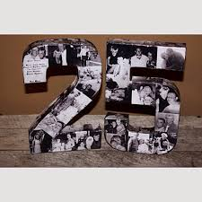25th anniversary party ideas 25th wedding anniversary party 50th 75th engagement 8 photo letter