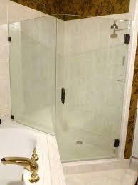 replacement glass shower door richmond va west end frameless