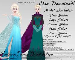 mmd download elsa coronation ice queen maricorsair
