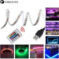 purple led lights for computers 5m rgb led strip waterproof tiras smd 5050 led strip tv tape