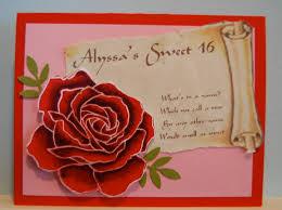Sweet 16 Invitation Cards Alyssa U0027s Sweet 16 Invitation U2026 Lakesidestamper Com