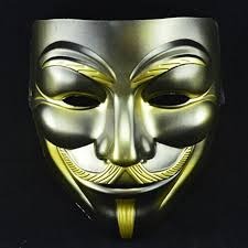 mask for sale on sale v mask gold beard vendetta mask anonymous fawkes