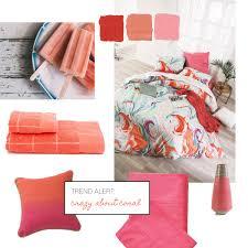 trend alert crazy about coral pillow talk blog