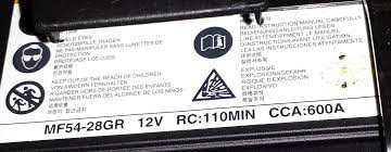what are the 12v battery specs for the 2011 hsh hyundai forums