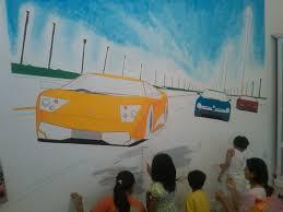 hand painted wall murals studiomalik studio malik wall paintings