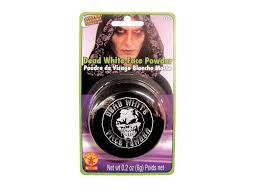 amazon com rubies dead white face powder compact toys u0026 games