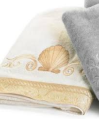 Seashell Bathroom Ideas Colors Croscill Coral Beach Towels Decorative Towels Feature