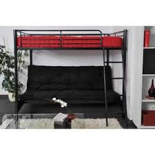 lit mezzanine et canapé lit mezzanine avec banquette futon futon el bodegon
