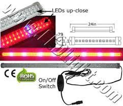 Led Tube Grow Light 24 Inch 12 Volt Dc Low Voltage Led Lights