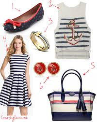 nautical attire creating nautical style