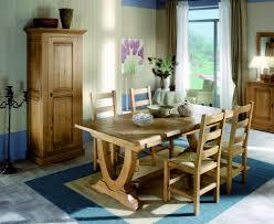 french country oak dining table v leg extending 220cm 310cm