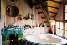 green bathroom decor stall shower use glass shower doors tile