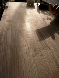 Mineral Wood Laminate Flooring Finishing How Can I Achieve A Raw Unfinished Look To My Project
