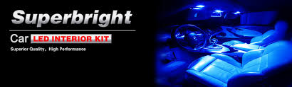 Interior Car Led Light Kits 7pcs Blue Interior Car Led Lights Kit For 2006 2008 Honda Civic
