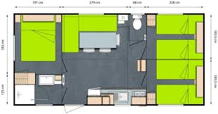 location mobil home 3 chambres tribu mobile home 3 bedrooms 6 8 persons domaine de gajan