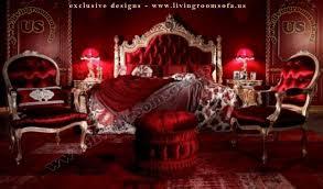 classic bedroom furniture gold leaf carved exclusive design ideas
