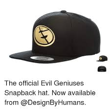 Meme Snapback - the official evil geniuses snapback hat now available from meme on