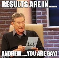 Andrew Meme - maury lie detector meme imgflip