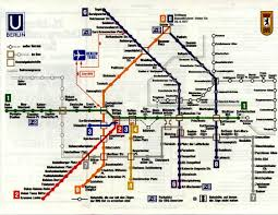 Berlin Map Historical Map West Berlin U Bahn Map 1977 Transit Maps