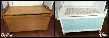 Create Your Own Toy Chest by Mod Podge Toy Box Transformation Mommy U0027s Tool Belt