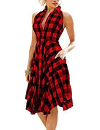 plaid dresses clothing clothing shoes jewelry