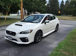 sti subaru 2016 white my 2016 subaru wrx in august when i got it cars pinterest