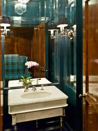 Design Powder Room Probably A Vintage Powder Room Sink Green Lacquered Walls For