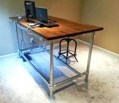 diy pipe computer desk diy pipe desk custom industrial pipe desk for gaming and design