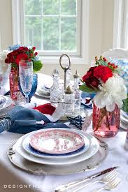 july 4th champagne breakfast tablescape french country home