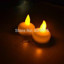 floating led tea lights free shipping 24pcs lot led candle light waterproof floating battery