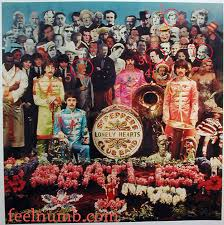 sargeant peppers album cover the 5 removed obscured on the beatles sgt